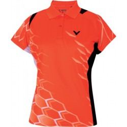 POLO FEMME VICTOR NATIONAL ORANGE 6275